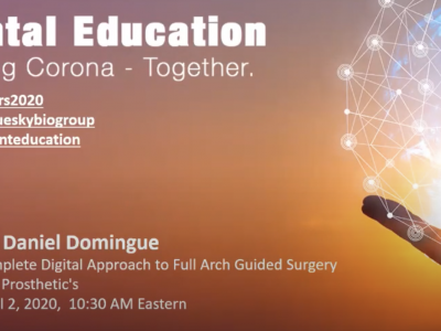 Complete Digital Approach to Full Arch Guided Surgery and Prosthetic's